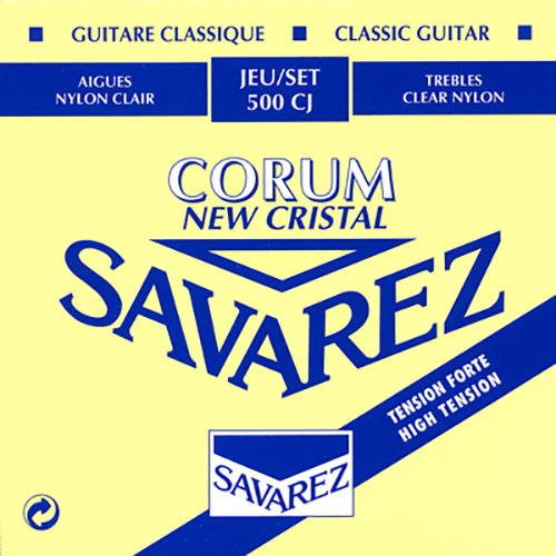 Savarez 500CJ Cristal Corum, High Tension Strings (front)