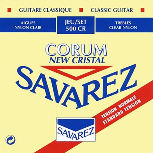 Savarez 500CR Cristal Corum, Normal Tension Strings (front)