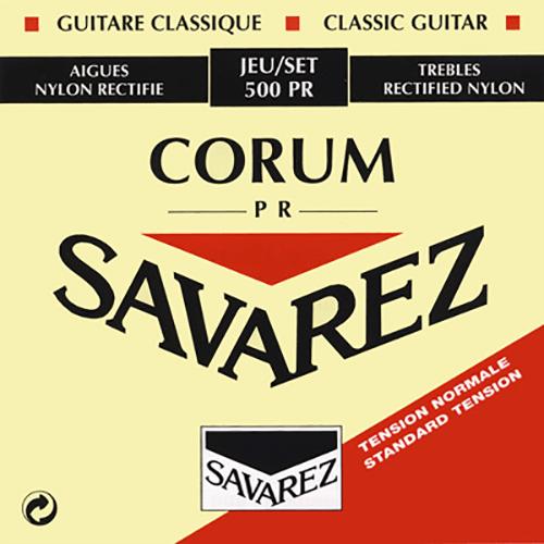 Savarez 500PR Cristal Corum, Normal Tension Strings (front)