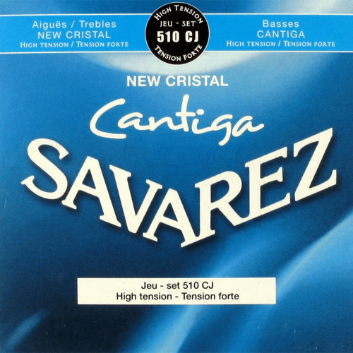Savarez 510CJ Cristal Cantiga, High Tension Strings (front)