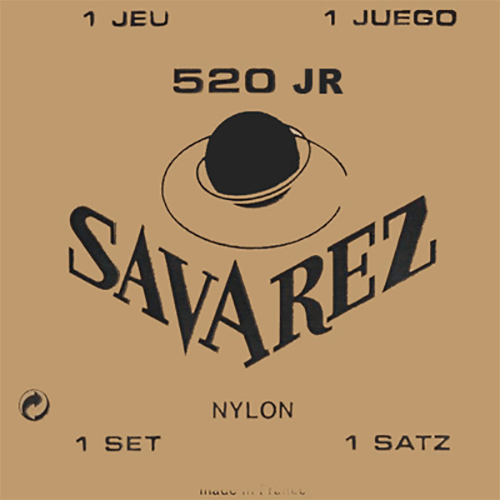 Savarez 520JR Traditional, Mixed Tension Strings (front)