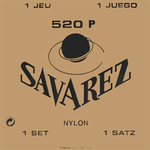 Savarez 520P Traditional, High Tension (Red Card) Strings (front)