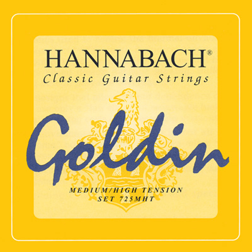Hannabach 725 Goldin, Full Set Product Package