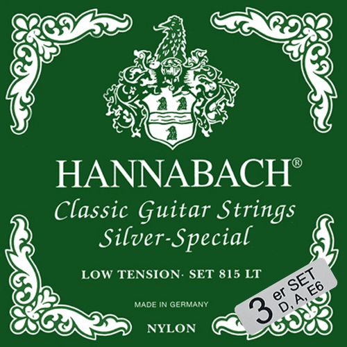 Hannabach 815LT Silver Special Low Tension, Basses Only Product Package