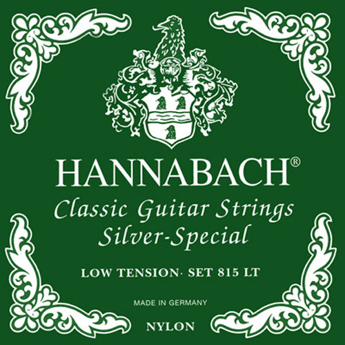 Hannabach 815LT Silver Special Low Tension, Full Set Product Package