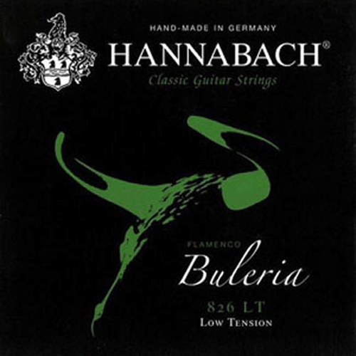 Hannabach 826 Flamenco Buleria Low Tension Product Package