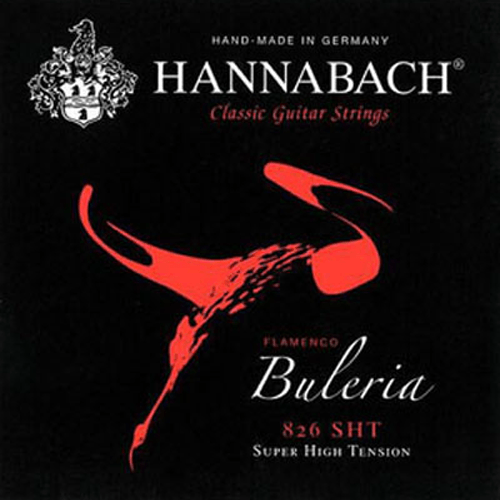 Hannabach 826 Flamenco Buleria Super High Tension Product Package