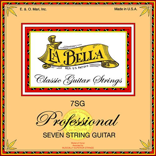 La Bella 7SG Professional 7 String Set
