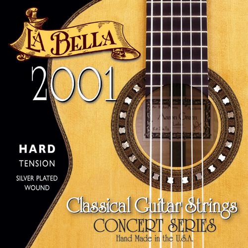 La Bella 2001 Concert Classical, Hard Tension