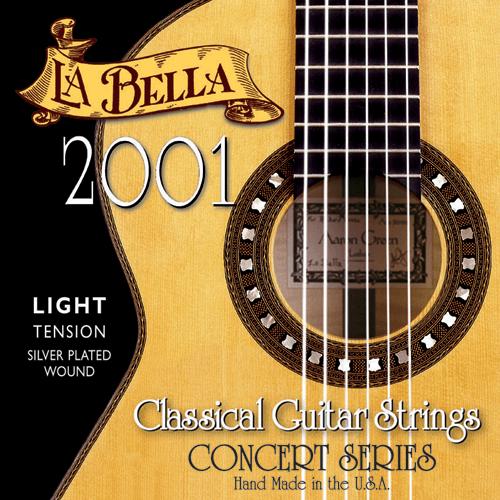 La Bella 2001 Concert Classical, Light Tension