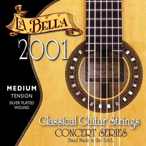 La Bella 2001 Concert Classical, Medium Tension