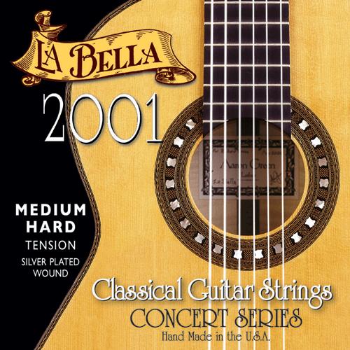 La Bella 2001 Concert Classical, Medium Hard Tension
