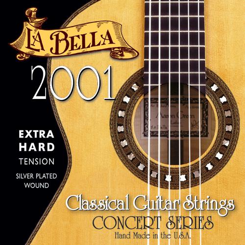 La Bella 2001 Concert Classical, Extra Hard Tension