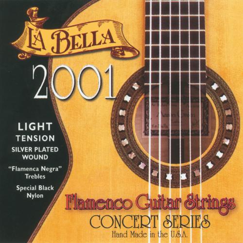 La Bella 2001 Concert Flamenco, Light Tension
