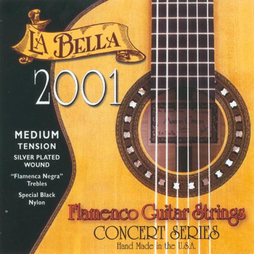La Bella 2001 Concert Flamenco, Medium Tension