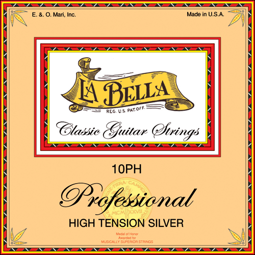 La Bella 10PH Professional, High Tension