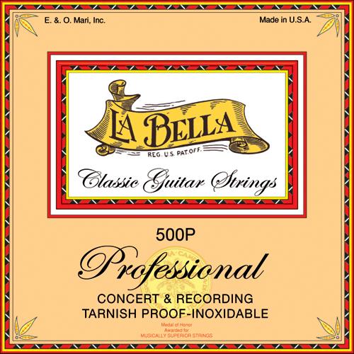 La Bella 500P Professional Concert and Recording, High Tension