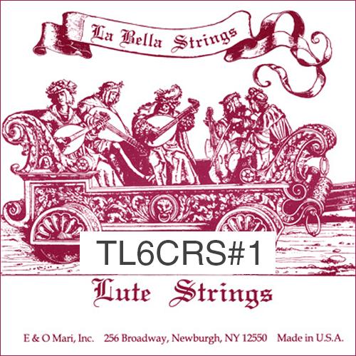 La Bella TL6CRS#1 Renaissance Lute Strings