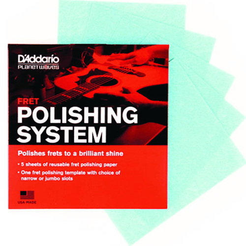D'Addario Planet Waves Fret Polishing System Packaging