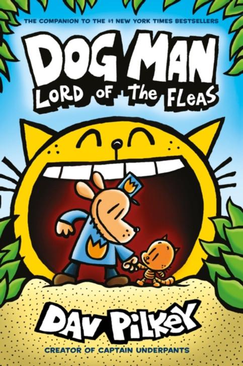 Dog Man 5: Lord of the Fleas P/B / Dav Pilkey
