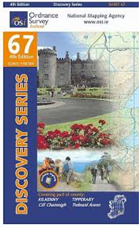 Ordnance Survey Map 67 (Discovery Series): Kilkenny, Tipperary 3rd Ed