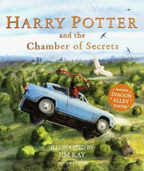 Harry Potter and the Chamber of Secrets Illustrated / JK Rowling