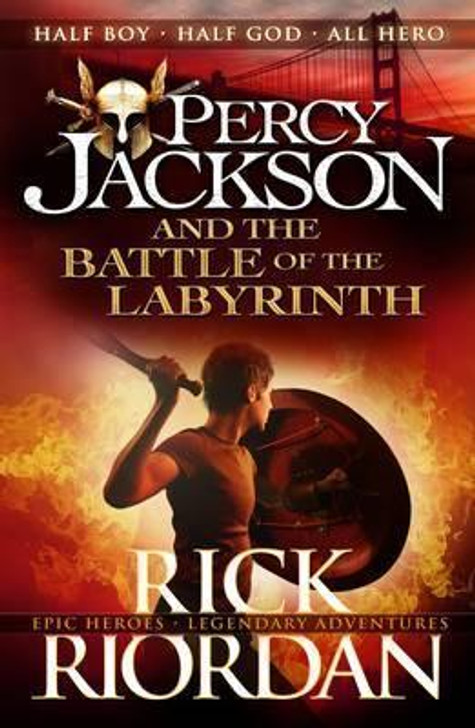 Percy Jackson and the Battle of the Labyrinth / Rick Riordan