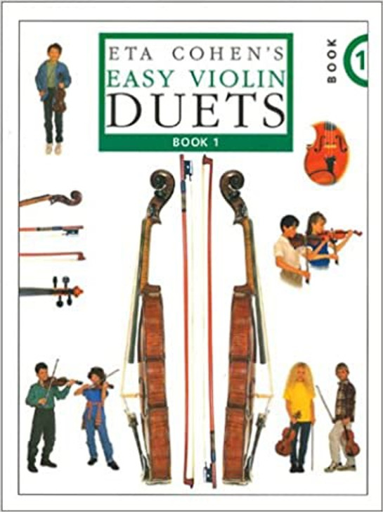 ETA Cohen's Easy Violin Duets Book 1