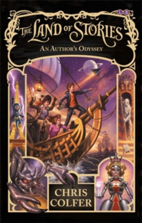 Land of Stories 5: An Author's Odyssey / Chris Colfer
