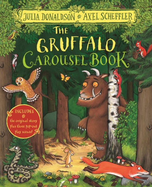 Gruffalo Carousel Book, The / Julia Donaldson & Axel Scheffler