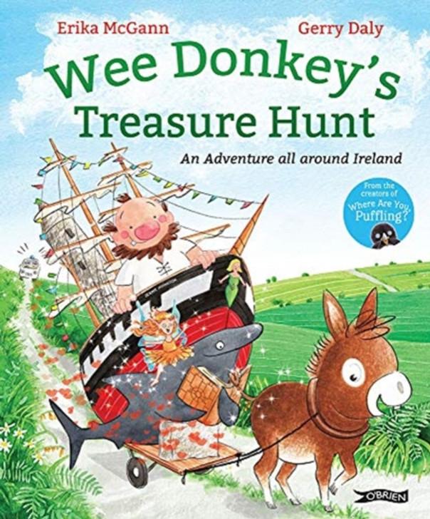 Wee Donkey's Treasure Hunt / Erika McGann & Gerry Daly