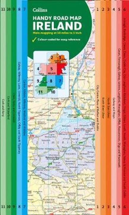 Collins Handy Road Map Ireland