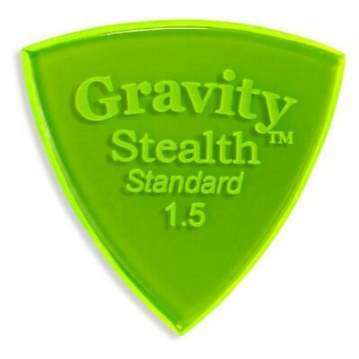 Gravity Stealth Standard 1.5mm Green Pick