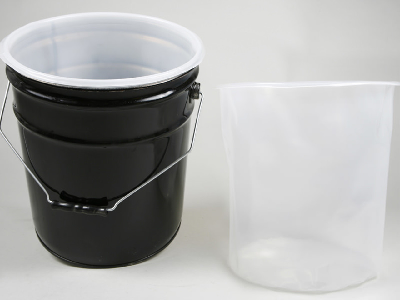 5 GALLON HDPE LINER FOR PLASTIC OR STEEL PAILS 15 MIL
