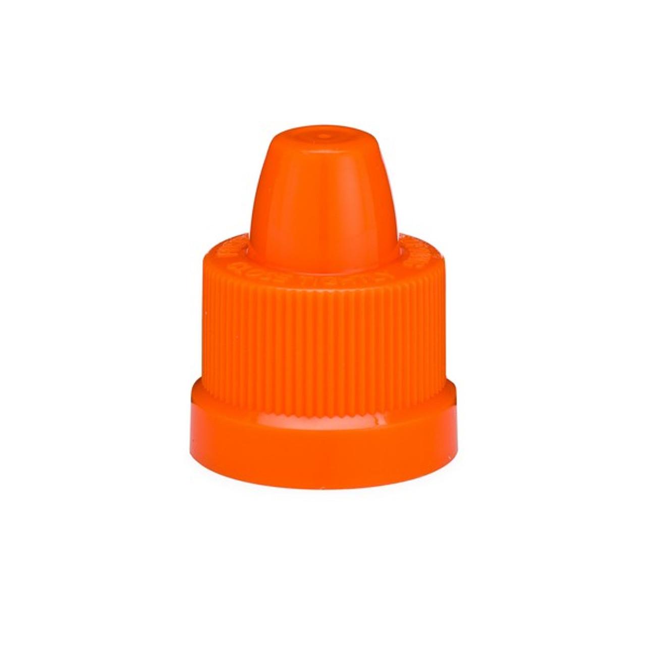 15-415 Orange Child-Resistant SecureCaps - 1202B01ORG