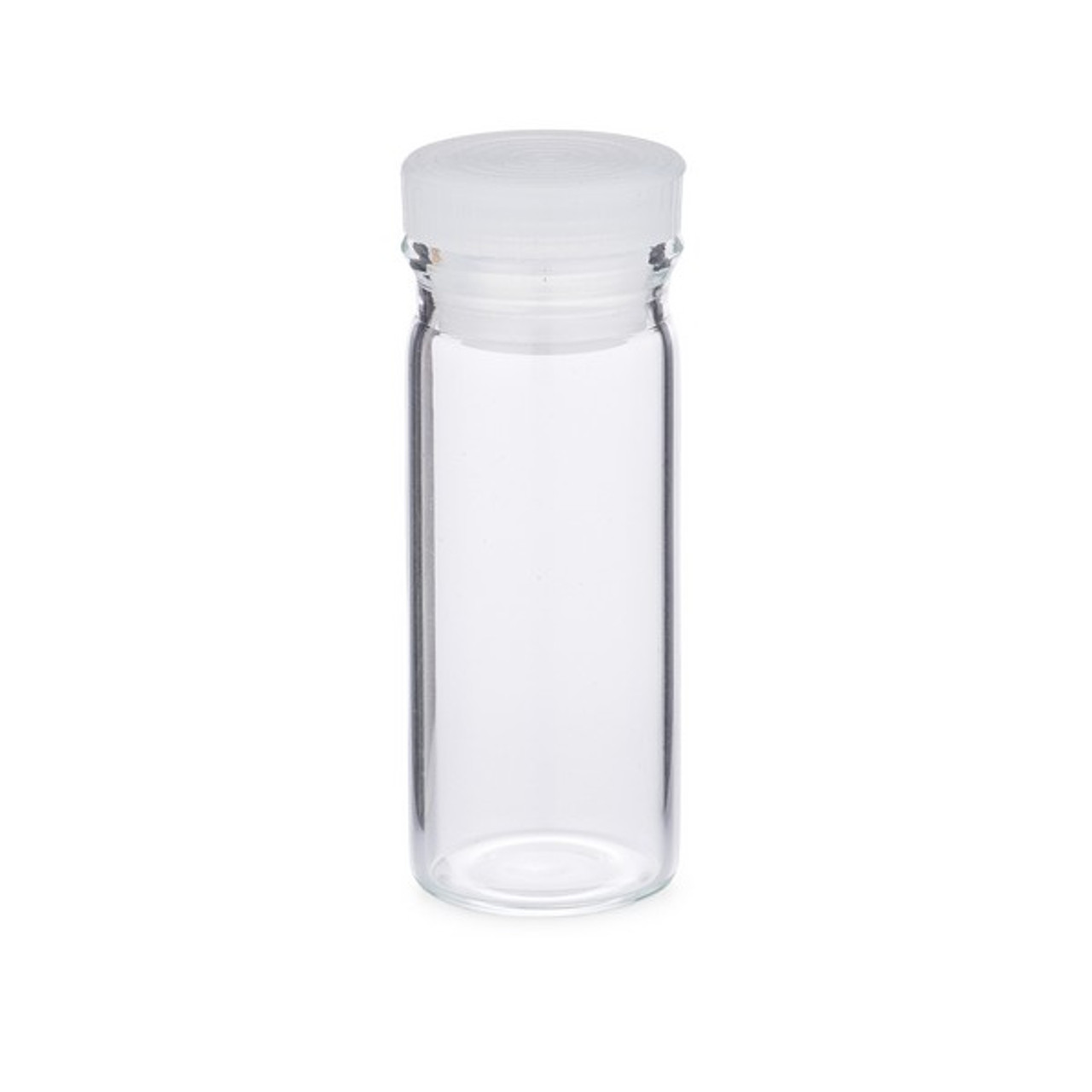 Glass Vial Clear Pack of 10 9-Dram *MEDICAL GRADE* One Ounce