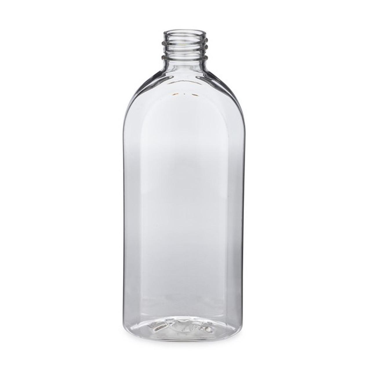 5fb362e14d4c 8 oz Clear PET Plastic Extract Bottles (Cap Not Included) - 3103B04-BCLR