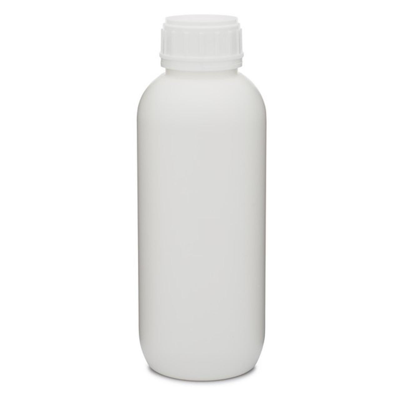 fb449ec4e8e2 Kautex 33.8 oz White PE-PA Plastic VarioPack Series AgroChemical CoEx  Barrier Round Leakproof Bottle - 1250B05