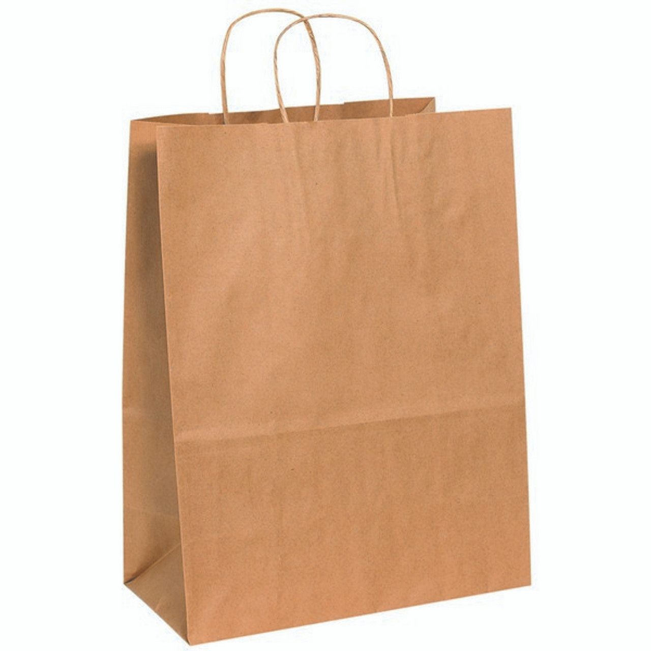 13in X 7in X 17in Kraft Paper Bags With Handles Berlin