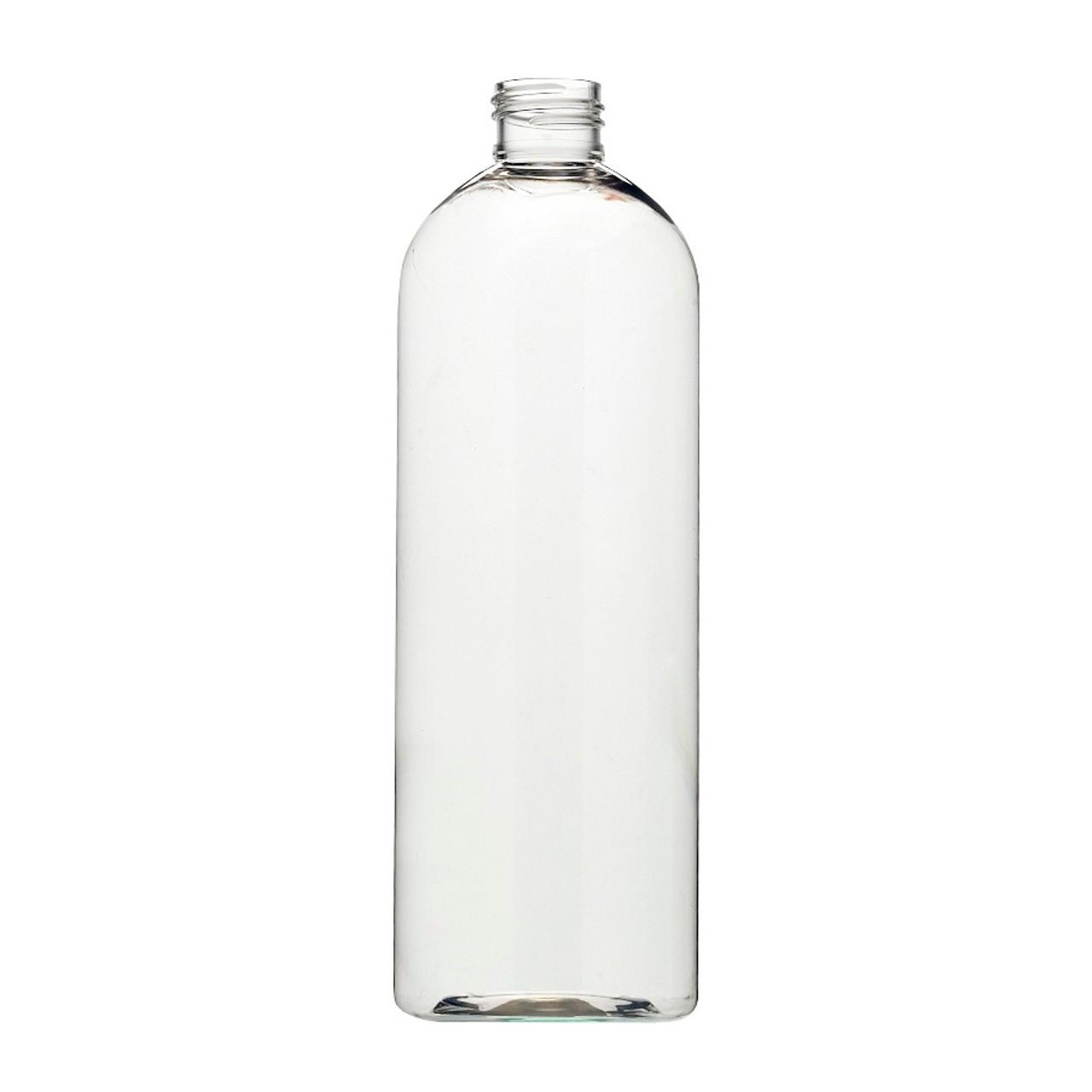 16 oz Clear PET Plastic Narrow Mouth Bullet Bottles   Berlin