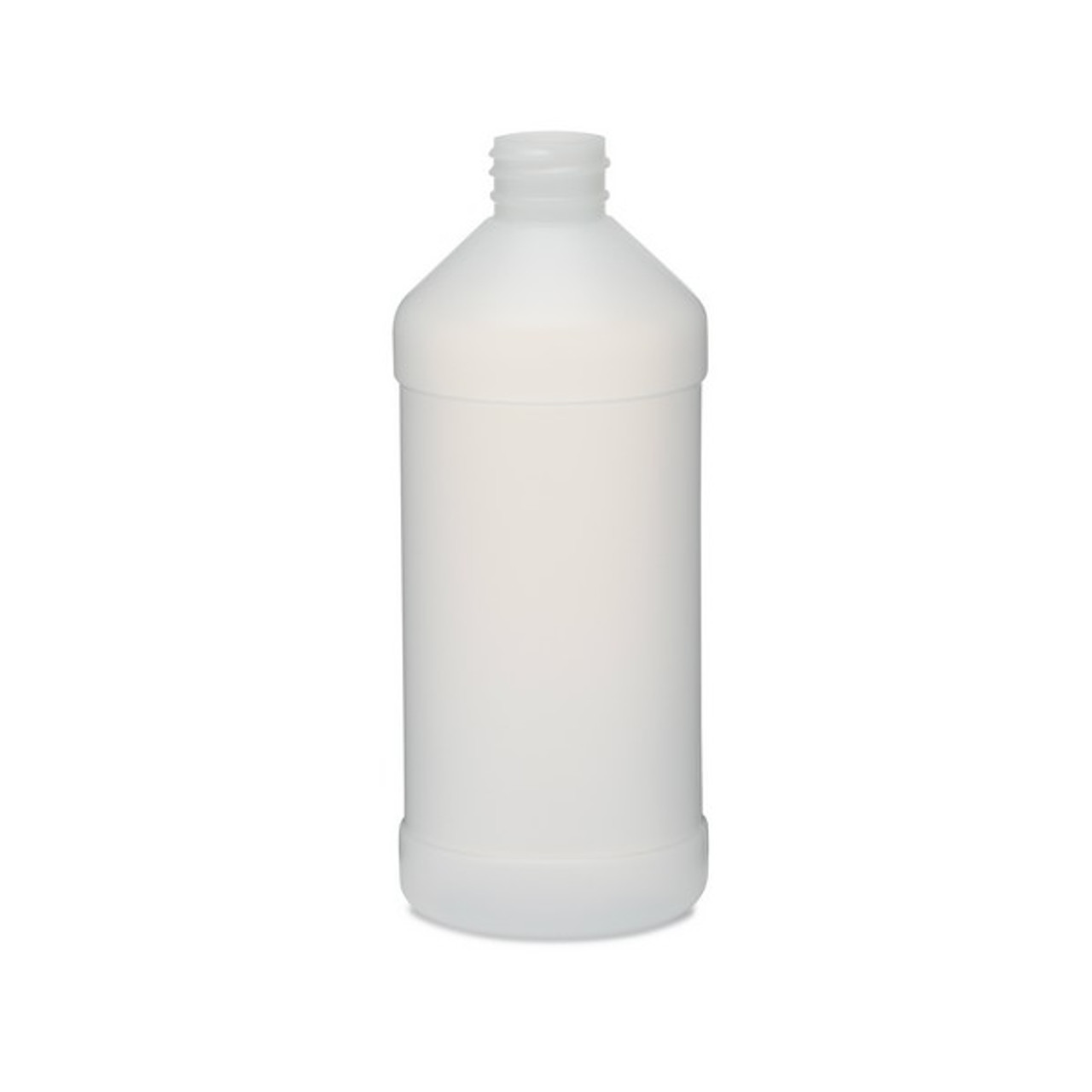 HDPE 16oz Squeeze Bottle with Plastic Cap