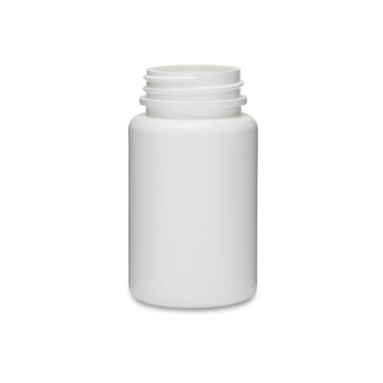 2 oz Natural HDPE Cylinder Bottles (Cap 20/410)   Berlin