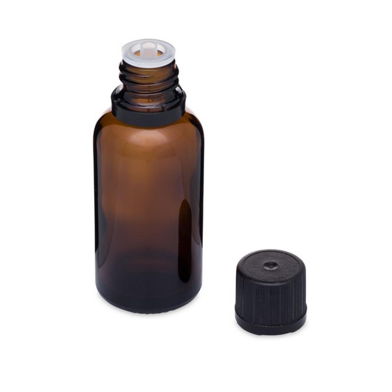 99c11ede708d 1 oz Amber Glass Euro Dropper Bottles (Tamper-Evident Cap) - 8624B07ABR