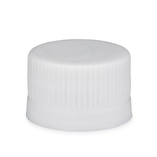 12 oz Clear PET Plastic Short Water Bottles (White Tamper-Evident Cap) -  4691B02