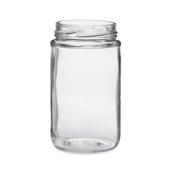 a3c74492869b2 Glass Round Jars - Lug Finish