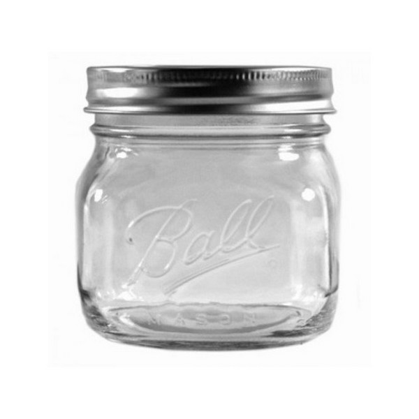 Ball Collection Elite Clear Glass Mason Jars Lid Berlin