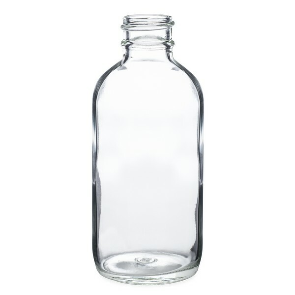f8f2c77a9034 4 oz Clear Glass Boston Round Bottles *Bulk Pallet* - 4699B17BULCLR
