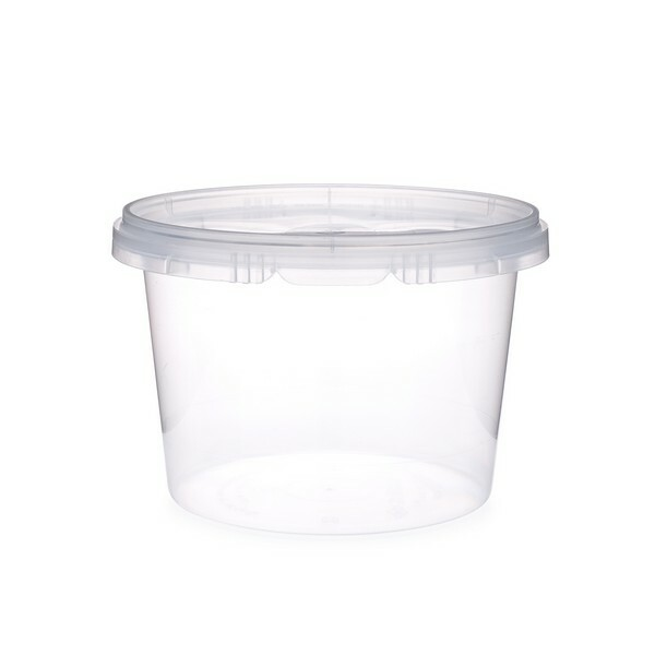 16 Oz Clear Pp Round Snap Lock Containers Berlin Packaging