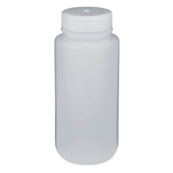 7b1fa8268211 Thermo Scientific Nalgene 17 oz Natural PP Plastic Wide Mouth Leakproof  Bottles - 312187-16