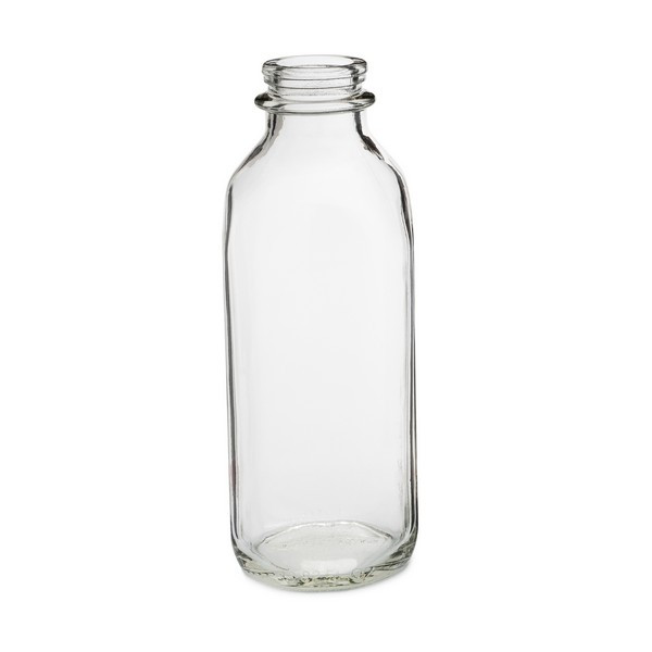 9a546392c51 33 oz Clear Glass Milk Bottles (Cap Not Included) - 3800B11-B